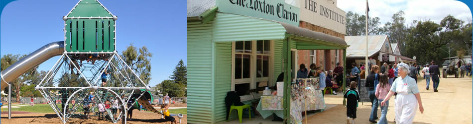 Places to Explore in Loxton